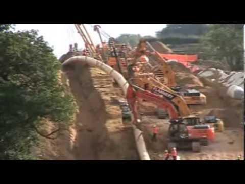 Wormington to Sapperton Pipeline 2010 - Hailes Bank