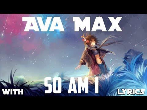【nightcore】→-so-am-i-||-ava-max-✘-lyrics