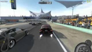 NFS Pro Street gameplay on MSI gx633