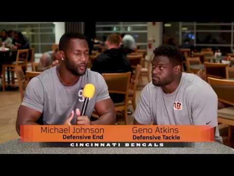 Build a Bengal: Michael Johnson & Geno Atkins on Breakfast