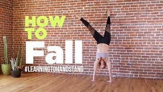 How to Safely Fąll Out of a Handstand