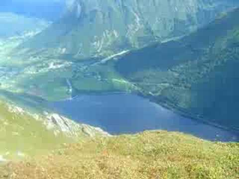 Mountain Climbing Norway -- King of the World