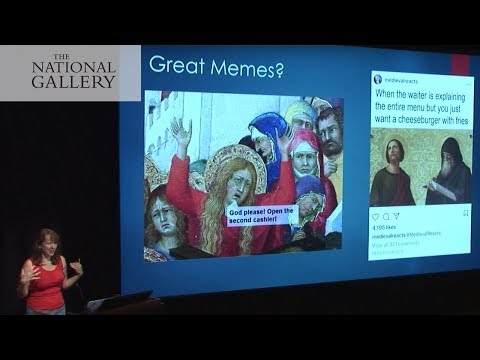 Classical art in the digital vernacular: Making memes from paintings   National Gallery