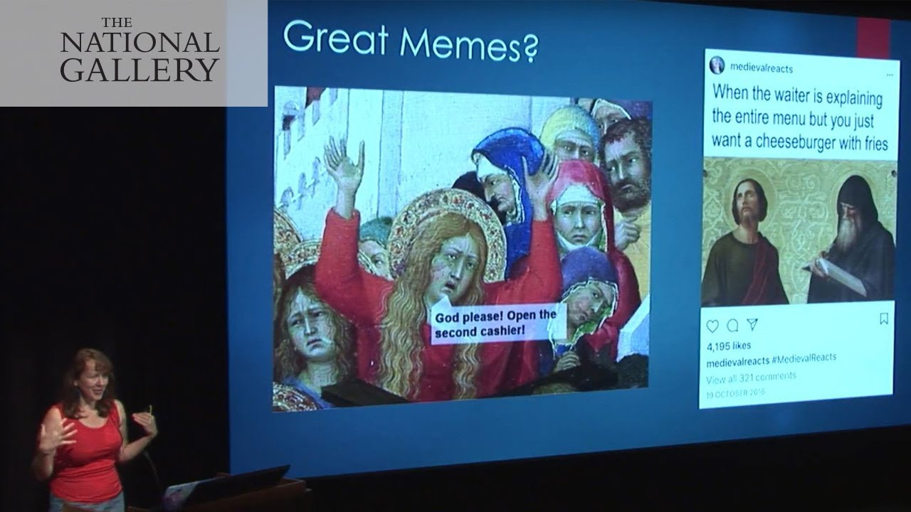 Classical Art In The Digital Vernacular Making Memes From Paintings