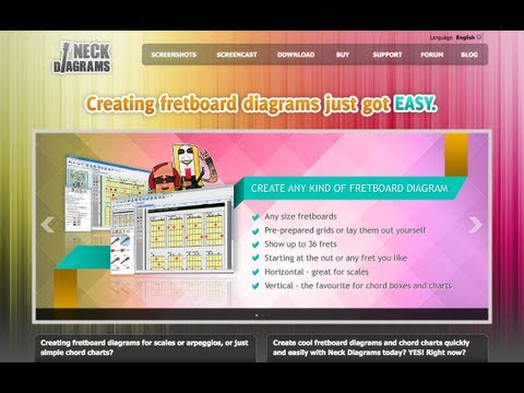 Neck Diagrams Must Have Software For Guitar Teachers Mac Pc