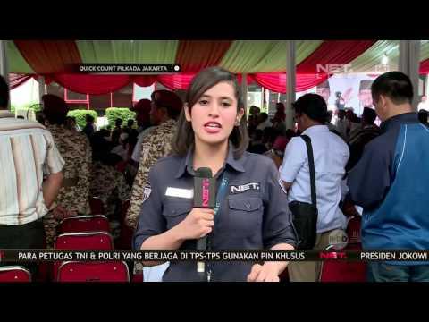 Quick Count Pilkada DKI - Ketua DPP Gerindra Prabowo Subianto Temui Anies-Sandi (4/12)