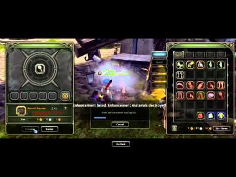Dragon Nest Sea Epic Fail Enchanting to +14 !!
