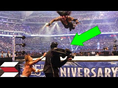 10 Times WWE Employees Got In The Way Of Wrestlers