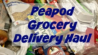Peapod Grocery Delivery Haul #peapodsavings