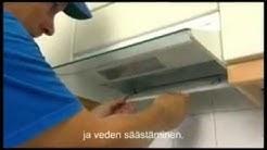 Asukasopas - Keittiö, liesituulettimen puhdistus