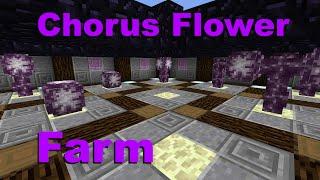 Minecraft 1.9: Fastest Chorus Flower Farm