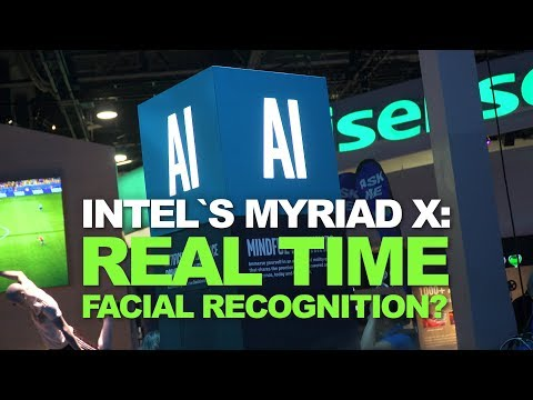 Intel's Myriad X VPU recognizes people in real-time