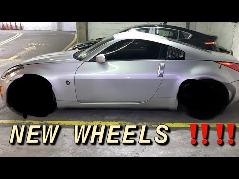 How to adjust coilovers | New rims for my 350z