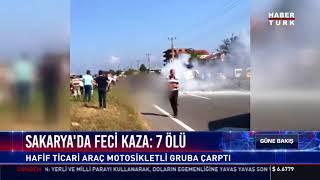 Sakarya'da feci kaza: 7 ölü