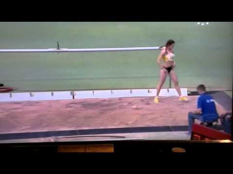 Alina Rotaru -long jump-6.61m Karlsruhe ian 2014