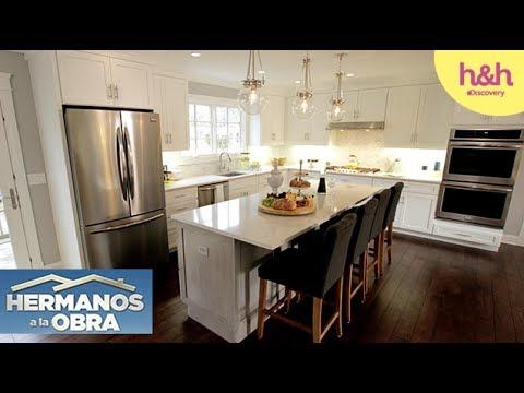 Redise ando la cocina hermanos a la obra discovery - Television en la cocina ...