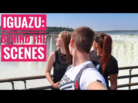 Behind the scenes of Iguazu Falls Trip