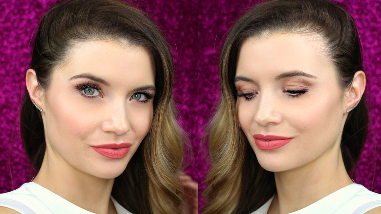 Makijaż Na Randkę Golden Rose Youtube