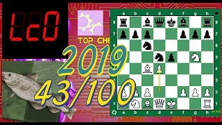 Stockfish vs Lc0 SuperFinal43/100.The Incredible Lolli Attack Played Better than Bobby Fischer
