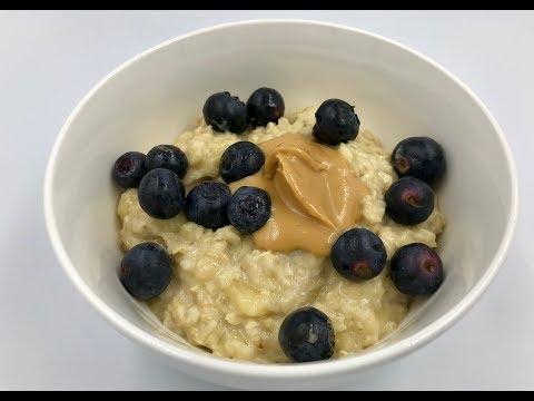 Овесена каша с банан и яйце | Идея за здравословна закуска | Рецепта с овесени ядки