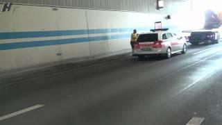 Unfall Autobahn A1 bei Schöneichtunnel 27.06.2012