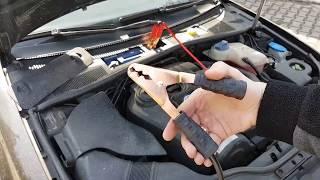 Jak prawidłowo używać Kable Rozruchowe - sposób na rozładowany akumulator