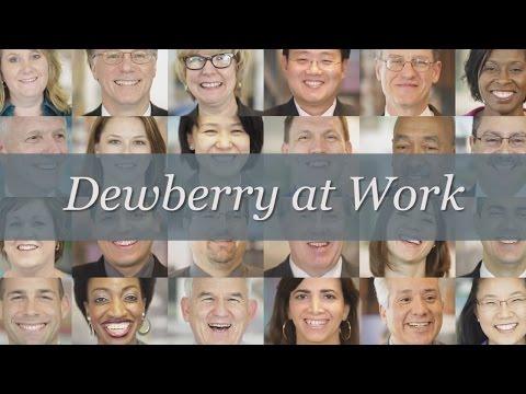 Dewberry at Work