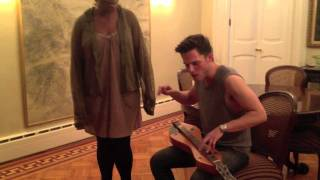 Bjork - Hyperballad (Cover by Eli Lieb with special guest Inyang Bassey)