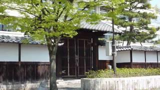 田辺藩の学問所「明倫館」の門(舞鶴市明倫小学校)