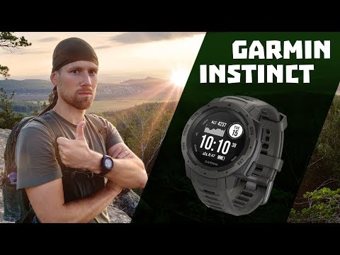 Тестируем часы Garmin Instinct в горах, городах и под водой. Что умеют умные часы?