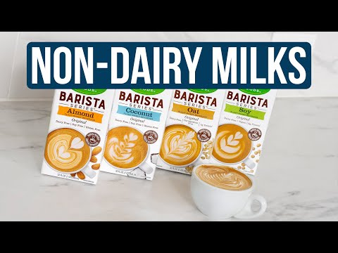 The Best Non-Dairy Milk Alternatives for Coffee and Espresso Drinks