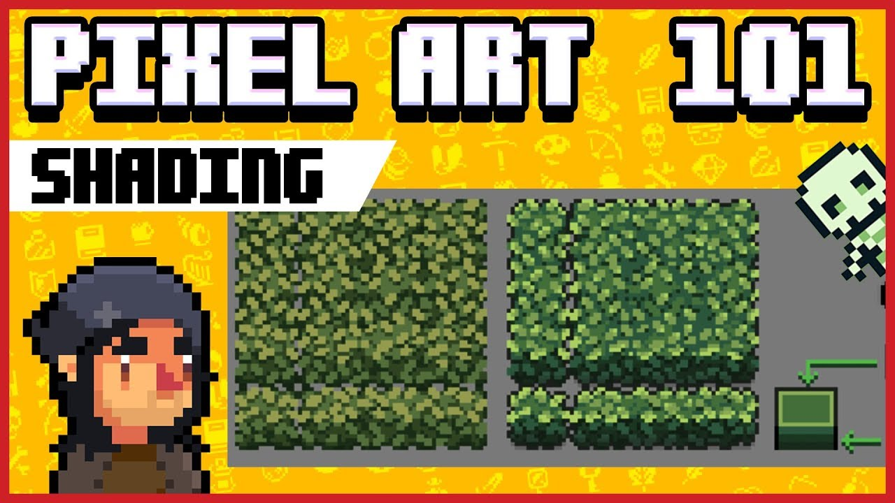 Pixel Art 101 Shading Tutorial Youtube