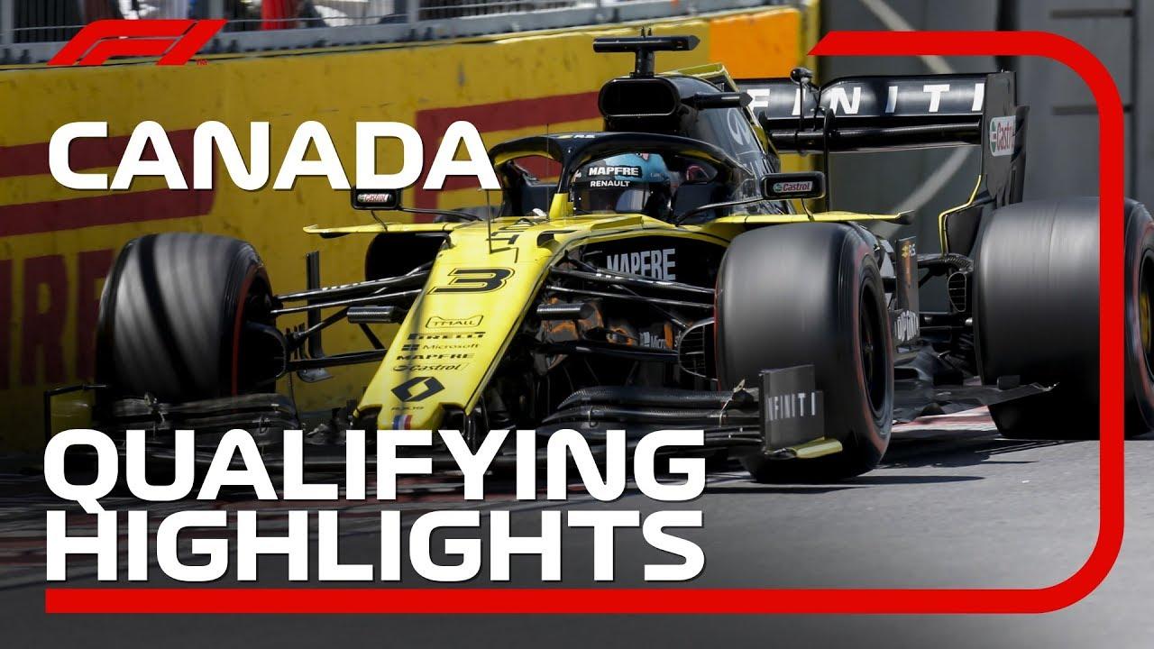 2019 Canadian Grand Prix: Qualifying Highlights
