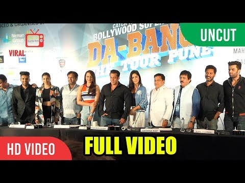 UNCUT - The Da-Bangg Tour 2018 Pune FULL VIDEO | Salman Khan, Katrina Kaif, Sonakshi, Daisy Shah