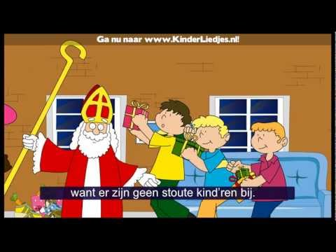 Sinterklaasliedjes van vroeger - Sinterklaasje kom maar binnen met je knecht