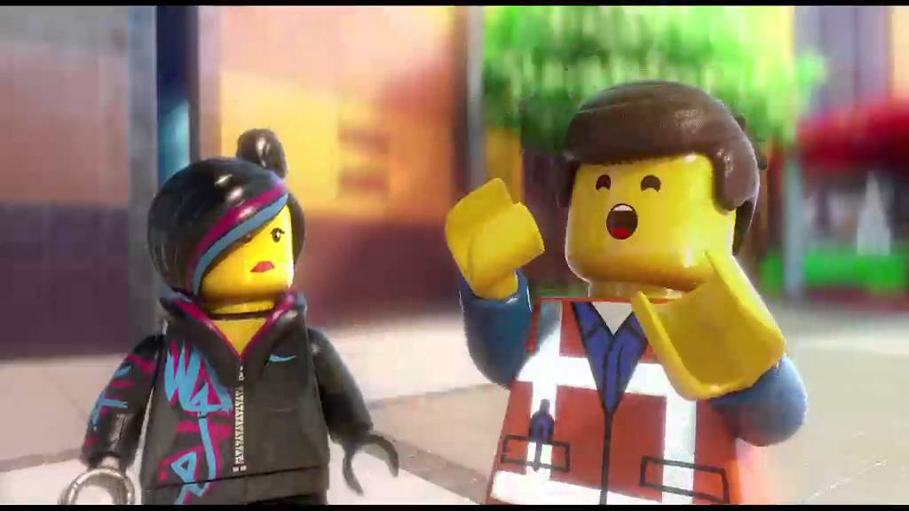 Lego Movie 4D Trailer