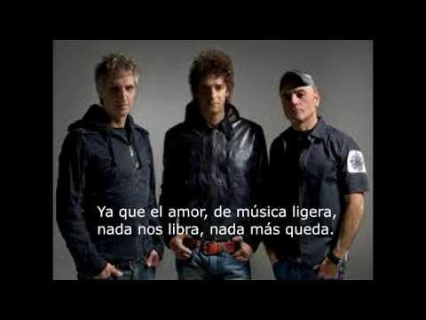 Soda Stereo- De música ligera (letra)