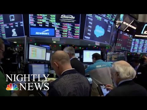 Wall Street Rollercoaster Fueled By Trade Tensions With China | NBC Nightly News