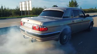 ВОЛГА УБИЙЦА BMW 540 E60.  TOYOTA MARK 2 НЕ НУЖЕН!