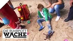 Fuß in Bärenfalle! Wer hat es auf den Jungen (6) abgesehen? | Die Ruhrpottwache | SAT.1 TV
