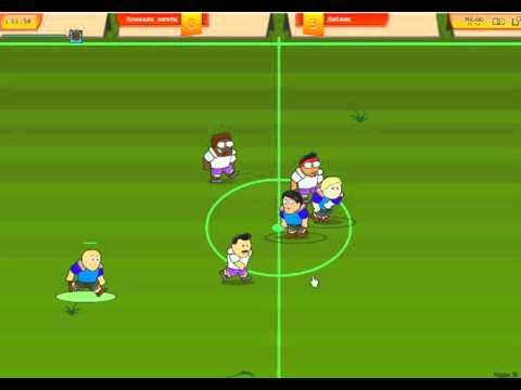 игра Футбол без правил приложение в контакте