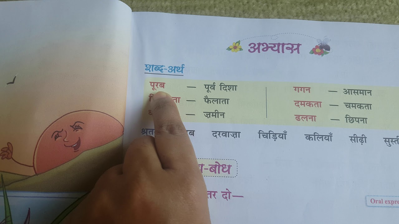 small resolution of Suraj~Shabdaarth/CBSE Class 2 Hindi - YouTube