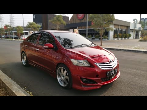 Paket Modifikasi Vios Limo Gen 2 ( Red Candy )