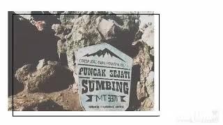 Story Wa....! Ter Viral. Pesona Alam Indahnya Puncak  Gunung Sumbing Menjadi Saksi.