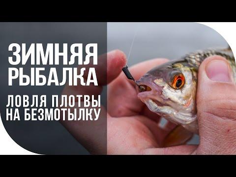 Зимняя рыбалка. Ловля плотвы на безмотылку.
