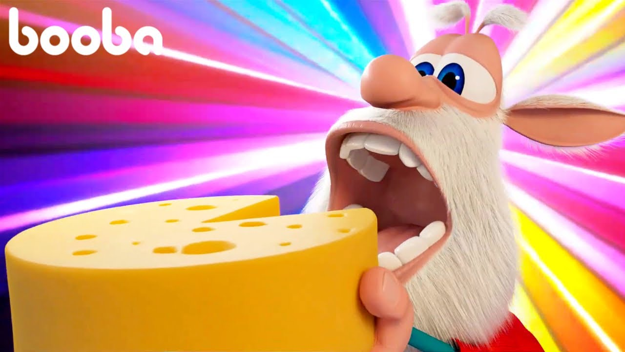 Booba The Cheese Lover 🧀 Cartoon For Kids Super ToonsTV