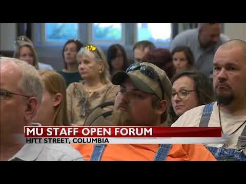 MU Staff Open Forum