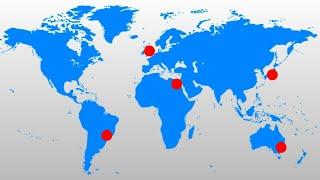 A Metrópole Mais Populosa de Cada Continente em 2020