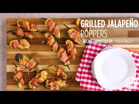 How To Make Grilled Jalapeno Poppers | Grilling Recipes | Allrecipes.com