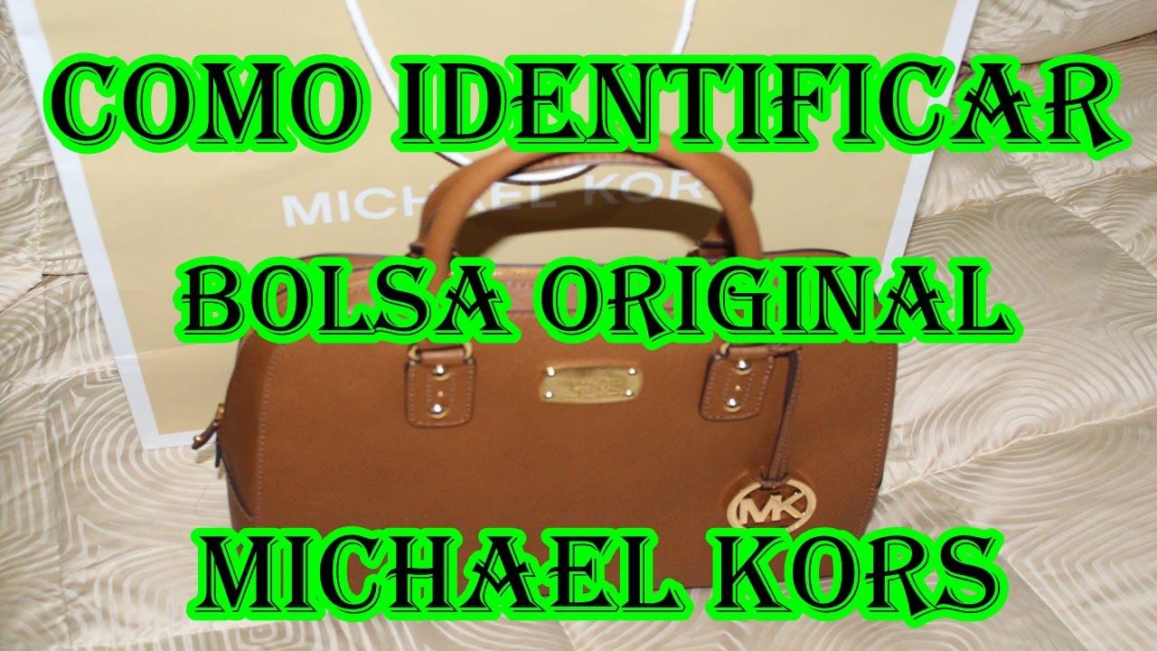 1a3e3374d Como Identificar Bolsa Michael Kors - YouTube